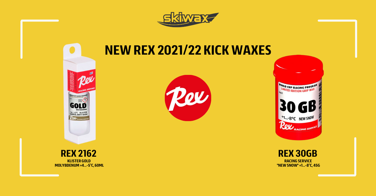 NEW gripwaxes from Rex now in stock!