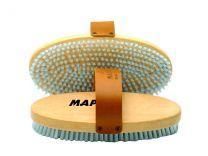 Maplus Hard nylon flat brush, oval