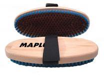 Maplus Hard brass flat brush, oval